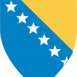 BosniAnd HerzegovinCoat Of Arms — Vector de stock #3681622