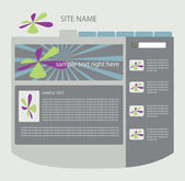 Vector web layout — Stock Vector