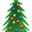 Christmas tree — Stock Vector #3793340
