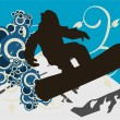 Royalty-Free Stock Vector Image: Snowboarder