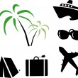 Travel icons — Stock Vector #3793367
