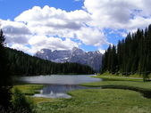 Landscape of Val Pusteria, Dolomiti, Italy — Stock Photo