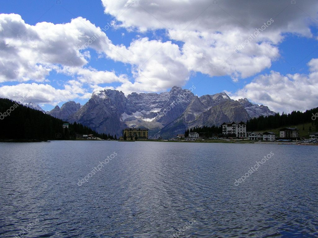 Landscape of Val Pusteria, Dolomiti, Italy — Stock Photo #3689277