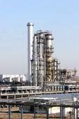 Oil rafinery — Stock Photo