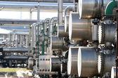油 rafinery — 图库照片