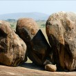 Three big boulders. — Stock Photo