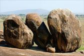 Three big boulders. — Stock Photo