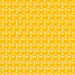 Honey combs background — Stock Photo