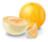 Melon composition — Stock Photo