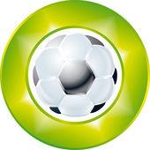 Football symbol — Stock Photo