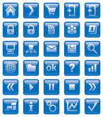 Web icons. — Stock Photo