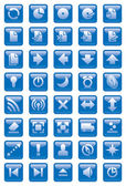 Web icons. — Stock Photo