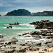 Coastal walk at Manganui, Bay of Plenty, New Zealand — ストック写真