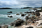 Coastal walk at Manganui, Bay of Plenty, New Zealand — Stock Photo