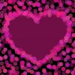Royalty-Free Stock Imagen vectorial: Vector transparent heart