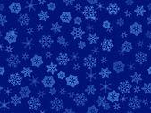 Vector transparent snowflakes — Stock Vector