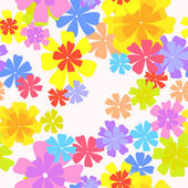 Vector floral pattern — Stock Vector