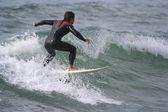 Surf teacher — Stock Photo