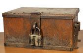 Vintage strongbox — Stock Photo
