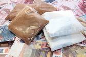Drug money cost — Stock Photo
