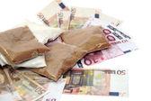 Drug money — Stock Photo