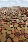 Money mountain — Stock Photo