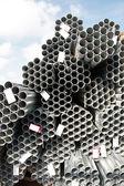 Steel patterns — Stock Photo