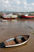 Youghal harbour — Stock Photo