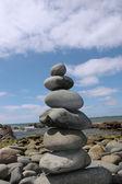 Zen stenar balanserad — Stockfoto