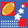 Royalty-Free Stock : American football background