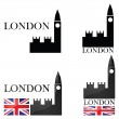 London design — Stock Vector