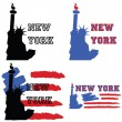 New York design — Stock Vector