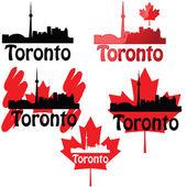 Toronto — Stock Vector