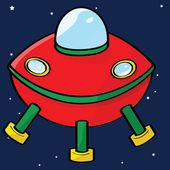 Flying saucer — Wektor stockowy