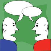 диалог — Cтоковый вектор