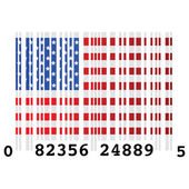 USA bar code — Stock Vector
