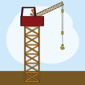 Crane — Wektor stockowy