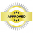 Seal of approval — Image vectorielle