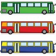 Buses - Stock Vector