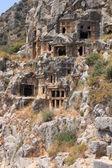在玛拉 5 世纪 a.d lycian 公墓. — 图库照片