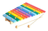 Wooden toy xylophone — Stock Photo