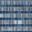 Stock Photo: Windows of office building
