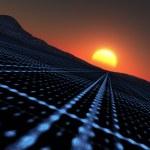 Technology Horizon — Stock Photo