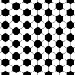Seamless football pattern, vector — 图库矢量图片 #3742308