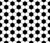 Seamless football pattern, vector — ストックベクタ