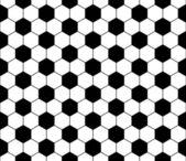 无缝足球图案矢量 — 图库矢量图片