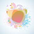 Royalty-Free Stock Vector Image: Clean light background woth copyspace.