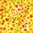 Seamless autumnal background - Stock Vector