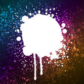 Grunge colorful splashing — Stock Vector