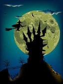 Halloween night — Vetor de Stock